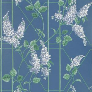115/5015-CS WISTERIA P Blue Jade C Blue Cole & Son Wallpaper