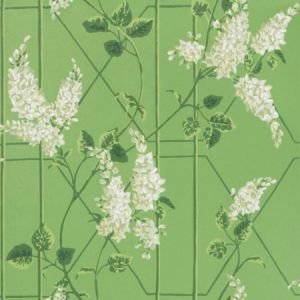 115/5016-CS WISTERIA Sage Leaf Green Cole & Son Wallpaper
