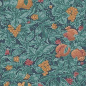 116/2005-CS Vines Of Pomona Oran Teal Cole & Son Wallpaper