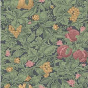 116/2008-CS Vines Of Pomona Crimson Olive Cole & Son Wallpaper