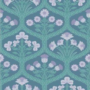 116/3011-CS Floral Kingdom Lilac Teal Cole & Son Wallpaper