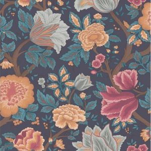 116/4014-CS Midsummer Bloom Orange Rose Cole & Son Wallpaper