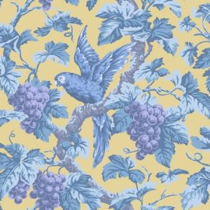 116/5017-CS Woodvale Orchard Hyacinth Ochre Cole & Son Wallpaper
