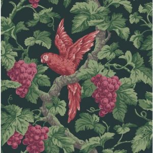 116/5020-CS Woodvale Orchard Ruby Charcoal Cole & Son Wallpaper