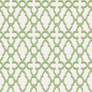 116/6022-CS Treillage Leaf Green Chalk Cole & Son Wallpaper