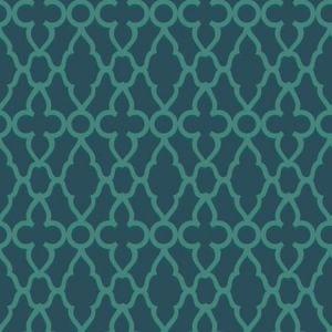 116/6023-CS Treillage Viridian Ink Cole & Son Wallpaper