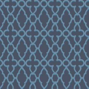 116/6024-CS Treillage Cerulean Midnight Cole & Son Wallpaper