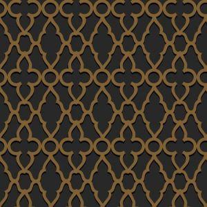 116/6025-CS Treillage Metallic Bronze Charcoal Cole & Son Wallpaper