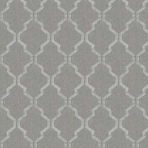 BAMBURI Silver Stroheim Fabric