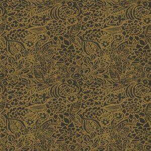 BATIK FLORAL Bronze Fabricut Fabric