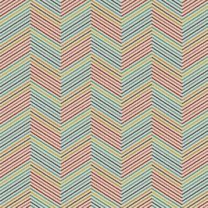 MOD HERRINGBONE Fiesta Fabricut Fabric