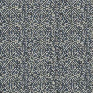 TANAMACHI Navy Fabricut Fabric