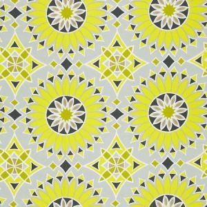 Schumacher Soleil L.A. Print Driftwood Fabric