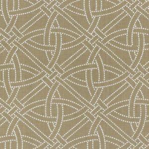 Schumacher Durance Embroidery Greige Fabric