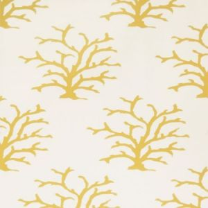 Stroheim Coral Maize Wallpaper