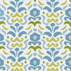Stroheim Montenegro Turquoise Lime Wallpaper