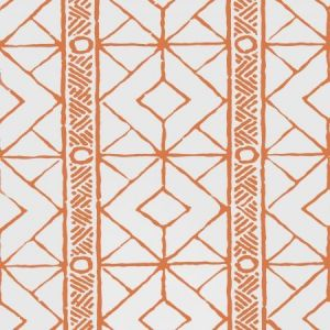 Stroheim Twig Orange Wallpaper