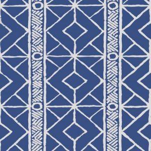 Stroheim Twig Navy Wallpaper
