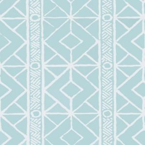 Stroheim Twig Turquoise Wallpaper