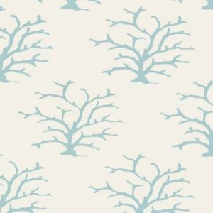 Stroheim Coral Turquoise Wallpaper