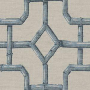 Kravet Bambu Fret Ciel Fabric