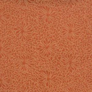 Vervain Chrysanthemum Red Jasper Fabric