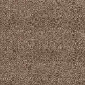Vervain Crop Art Circles Cocoa Fabric