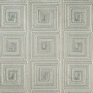 Kravet Edge Stitch Teal Fabric