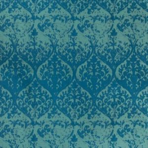 Kravet Worn In Teal Fabric