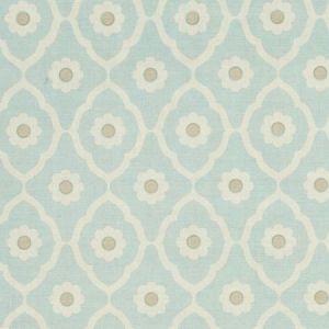 Schumacher Soundess Aqua SOUN003 Fabric