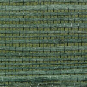 Astek ED162 Grasscloth Sea Green Jute Wallpaper