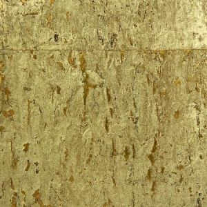 Astek MC101 Metal Cork Yellow Gold Wallpaper