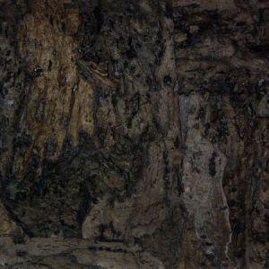 Astek MC117 Carbonized Cork Ebony Wallpaper