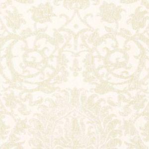 Schumacher Arezzo Linen Damask Champagne 66362 Fabric