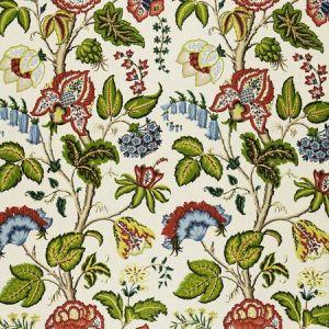 172615 TREE OF LIFE Ivory Schumacher Fabric