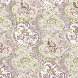 175551 PICKFAIR PAISLEY Lilac Schumacher Fabric