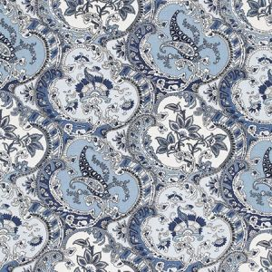 175553 PICKFAIR PAISLEY Pacific Schumacher Fabric