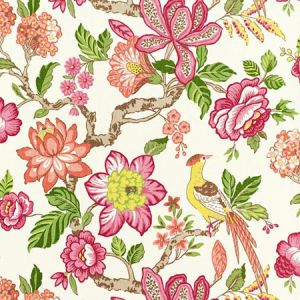 175562 HUNTINGTON GARDENS Multi Schumacher Fabric