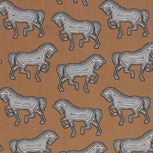 178012 FAUBOURG Brown Schumacher Fabric