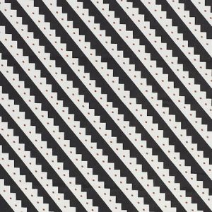 178021 ZEPPELIN Black Schumacher Fabric