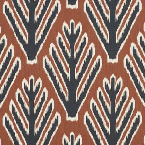 178562 BODHI TREE Brown Black Schumacher Fabric