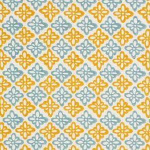 179303 PATTEE Turmeric Schumacher Fabric