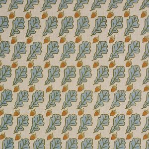 179311 OAK Blue Schumacher Fabric