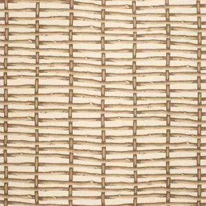 2020167-166 TWIG FENCE Brown Ecru Lee Jofa Fabric