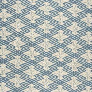 2020168-165 VIA KRUPP Blue Ecru Lee Jofa Fabric