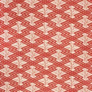 2020168-169 VIA KRUPP Red Ecru Lee Jofa Fabric