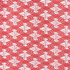 2020168-19 VIA KRUPP Red White Lee Jofa Fabric