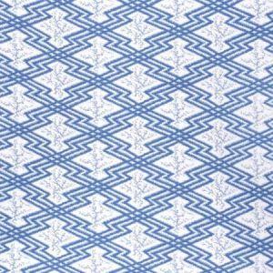 2020168-5 VIA KRUPP Blue White Lee Jofa Fabric