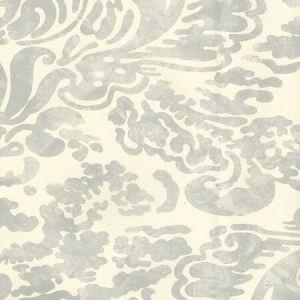2330-41OAW SAN MARCO Gray On Off White Quadrille Wallpaper