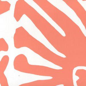 2470-20WP SIGOURNEY Terracotta On White Quadrille Wallpaper